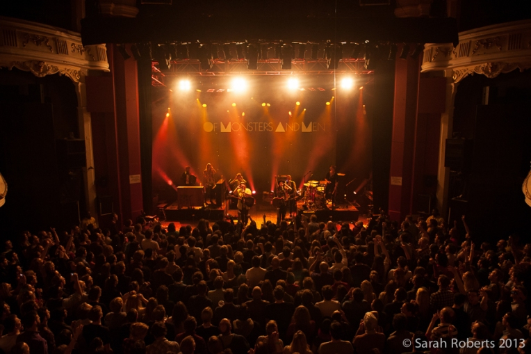 OMAM played to a sold-out Shepherd's Bush Empire every night
